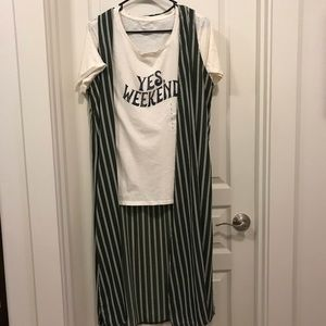 Greeen Kimono weekend T for sale in separate post